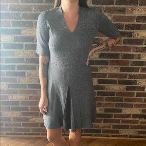 Grey Ann Taylor Work Dress